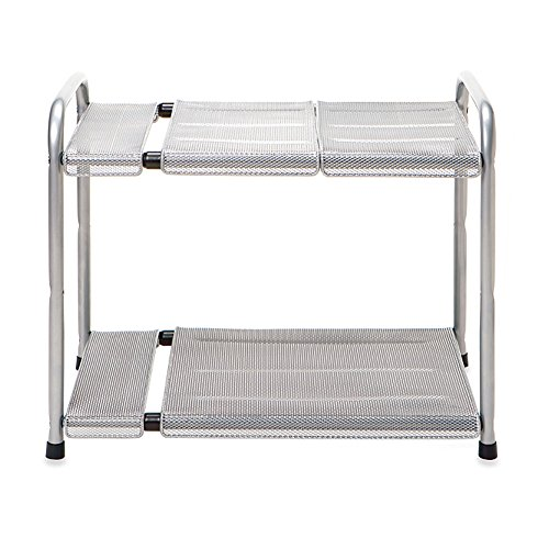 2-Tier Expandable Under the Sink Organizer, Adjustable
