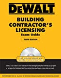 DEWALT Building Contractor's Licensing Exam Guide (Dewalt Exam/Certification Series) - 1111135517