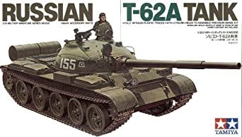 Tamiya Models Russian T-62 Tank Model Kit