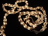 Vickerman 300 Lights Clear 9-Feet Garland End Connecting Set with White Wire