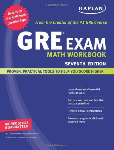 Kaplan GRE Exam Math Workbook (Kaplan GRE Math Workbook)