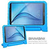 Samsung Galaxy Tab E 9.6 Kids Case-ANMANI Light Weight Kids Friendly Shock Proof Convertible with Handle Stand Case for Samsung Galaxy Tab E / Tab E Nook 9.6-Inch 2015 T560 Tablet Blue (Color: Blue, Tamaño: For Samsung Galaxy Tab E 9.6 SM-T560 Tablet)