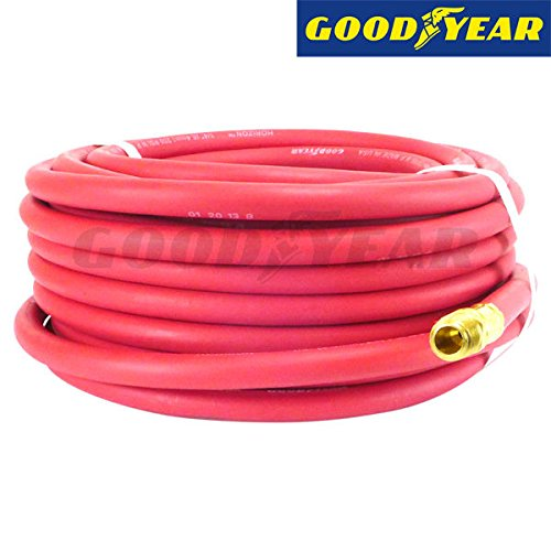 Continental (Formerly Goodyear) 100-Feet Rubber Air Hose, 250 PSI, 1/4-inch Fitting (1 4 Goodyear Air Hose compare prices)