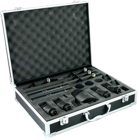 RVK7 7-Piece Drum Mic Set + 5 Free 6 metre XLR-XLR cables!