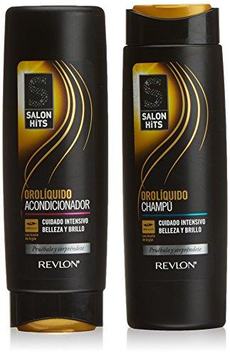 Salon Hits Oro Líquido Lote 2 Piezas