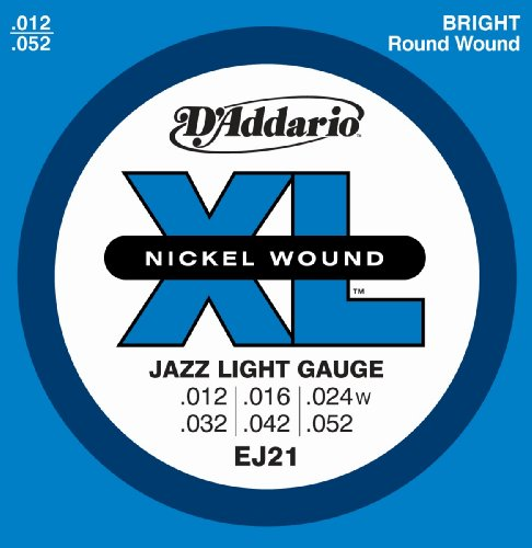 D'Addario EJ21 Nickel Wound Electric Guitar Strings,