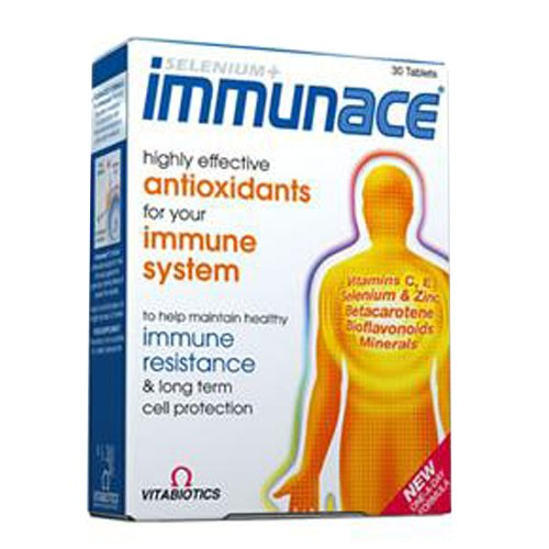 Vitabiotics Immunace for Immune Resistance and Cell Protection - 30 Capsules