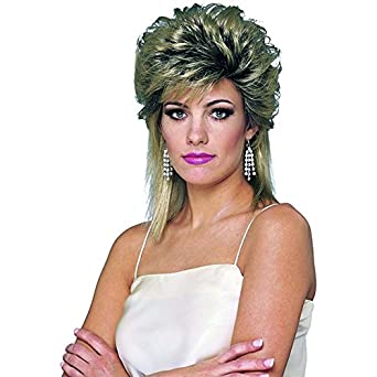 Franco American Novelty Company 80S Sprayed Wig