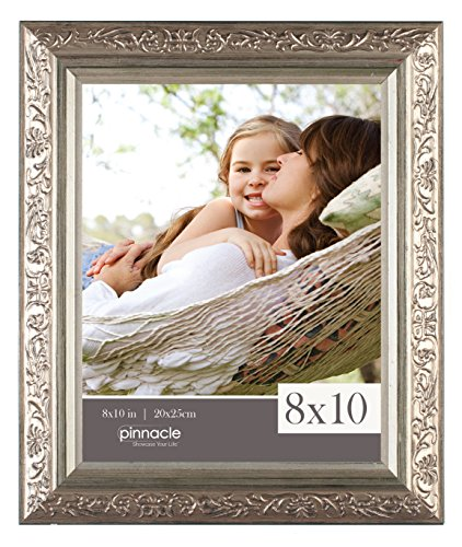 Pinnacle Antique Champagne Ornate Tabletop Frame, 8 by 10-Inch (Table Top Frames compare prices)
