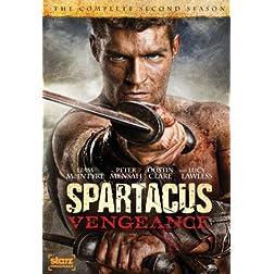 Spartacus: Vengeance - The Complete Second Season