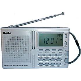 Kaito KA2031 AM/FM TV NOAA Wearther Radio with Alert & Sleep/Wake-up Timer