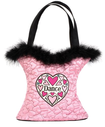 Dansbagz Hearts for Dance Tote Bag One Size Pink