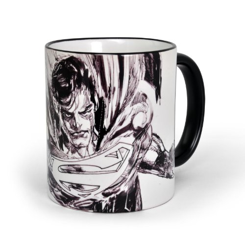 Superman - Tazza di Superman in Ceramica in comic style