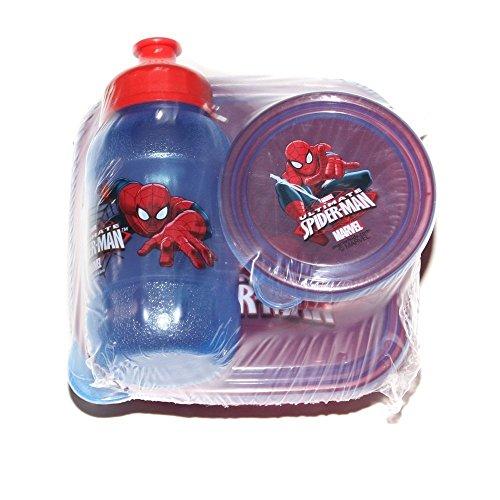 Zak Designs 3 Piece Spider-Man Toddler Snack Set With Tote