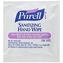 PURELL 9020-4M Sanitizing Hand Wipes (Pack of 4000)