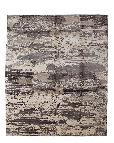 """Darya Rugs Modern Oriental Rug, Beige, 8' 3"""" x 9' 10"""""""