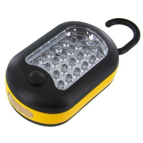 Wow! 27 Led Super Bright Oval Magnetic Backed Working Light. Hangs Or Mounts Almost Anywhere!
