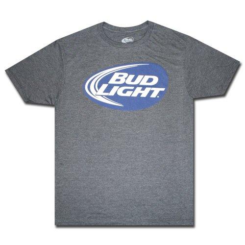 Bud Light Graphic Logo Men'S Adult T-Shirt-Small