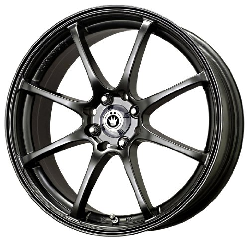 Konig Feather Gloss Black - 17 X 7 Inch Wheel