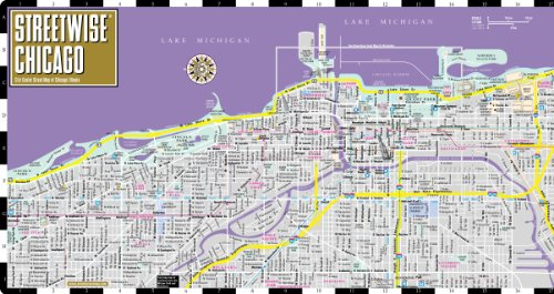 Streetwise Chicago Map Laminated City Center Street Map of – Chicago Travel Map