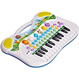 Simba 104015670 - Play and Learn Tier-Keyboard, 28 x 39 cm, verschiedene Sounds