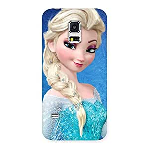 Cute Cunning Princess Back Case Cover for Galaxy S5 Mini