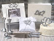 buy Deluxe 7 Pc Two Hearts That Beat As One Set Wedding Set