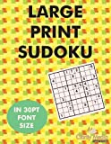 Large Print Sudoku: 100 sudoku puzzles in large print 30pt font size. (Volume 1) by Media, Clarity (2012) Paperback