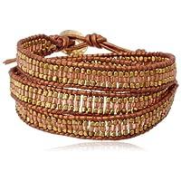 [ナカモル] NAKAMOL Bracelet NKBCBP12PGO