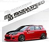 マツダ スピード MAZDASPEED ドア サイド デカール ステッカー (BLACK) [並行輸入品]