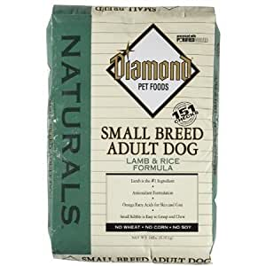 Diamond Naturals Dry Food for Adult Dogs, Small Breed Lamb