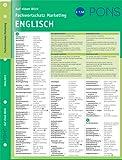 PONS Fachwortschatz auf einen Blick Marketing: Deutsch-Englisch