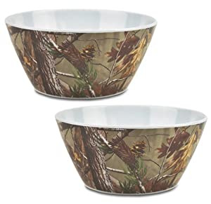 DII Real Tree Melamine Serving Bowl, 10-Inch, Set of 2 by DII