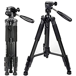 ZOMEI Z666 Portable Professional Tripod with Pan Head for Camera DSLR DV Canon Nikon Sony