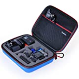 "Smatree® SmaCase G160 EVA Carrying and Travel Case (8.6"" X6.7"" X2.7"") with Foam for Gopro® HD Hero3+, 3, 2, 1 Camera camcorder and Essential Accessories - Blue"