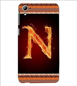 PrintDhaba GRANDbet N D-2541 Back Case Cover for HTC DESIRE 826 (Multi-Coloured)