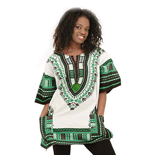 Women-Loose-Dress-Misaky-Blouse-With-Pocket-African-Casual-Straight-Dress