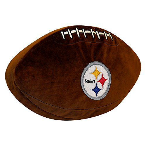 The Northwest Company NFL Pittsburgh Steelers 3D Sports Pillow from SteelerMania