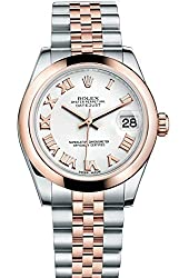 Rolex Lady Datejust 31 Steel Rose Gold watch White dial 178241