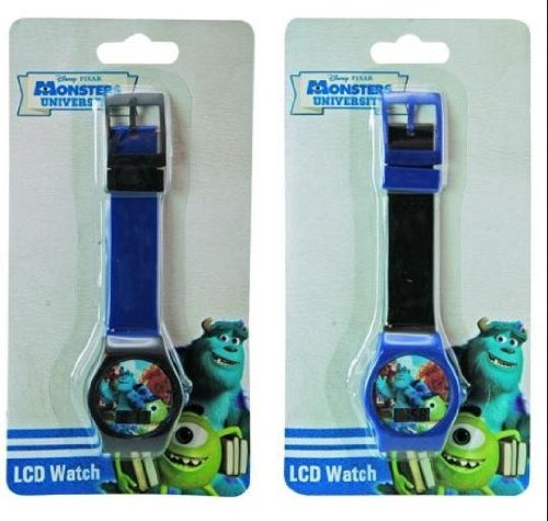 Monster University Lcd Digital Boys Wrist Watch X 2 (1 Blue 1 Red) front-1027500