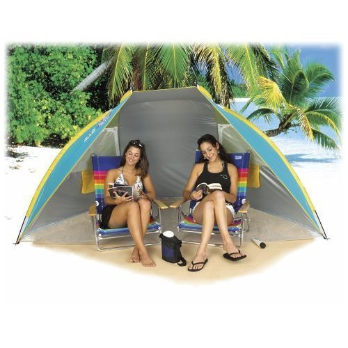Carpentero Beach Huts Camping: Canopy Beach Chair: Sun Shelter Beach Tent Cabana/Hut SPF