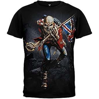 Old Glory Iron Maiden - Mens Jumbo Trooper T-shirt X-Large Black