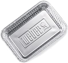 Weber 6415 Alu-Tropfschalen klein, 10 Stück