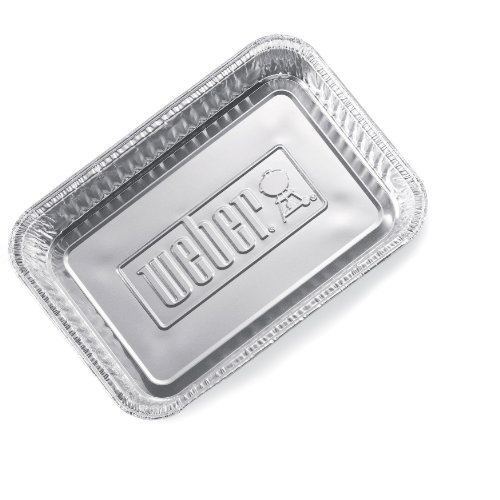 Cheap Weber 6415 Small 7-1/2-Inch-by-5-inch Aluminum Drip Pans, Set of 10