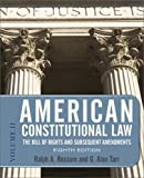American Constitutional Law 8E, 2-VOL SET: 2-VOLUME SET (0813344794) by Rossum, Ralph A.