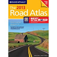 The 2013 Road Atlas (Rand McNally Road Atlas: United States/Canada/Mexico)