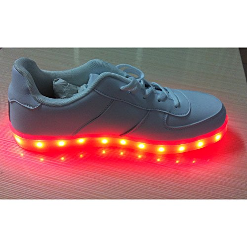 Acever Led Shoes Women'S Led Shoes Led Sneakers Christmas Cosplay Sneakers (Us7-Women)