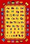 Kids Rug ABC Fun Area Rug 5 Ft. x 7 F…