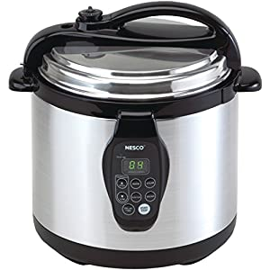Nesco PC6-25P Electric Programmable Pressure Cooker, 6-Quart, Stainless Steel