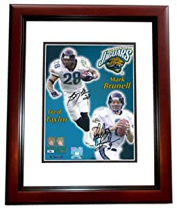 Mark Brunell and Fred Taylor Autographed Hand Signed Jacksonville Jaguars 8x10 Photo... by Real Deal Memorabilia